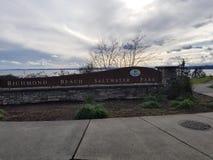Richmond Beach immagini stock