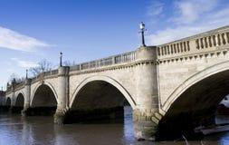 Richmond-Brücke im Winter Lizenzfreie Stockbilder