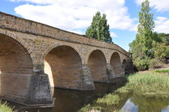 Richmond Bridge. Completed by convict labour in 1825 Royalty Free Stock Photos