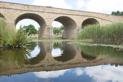 Richmond Bridge historique dans l'Australie de la Tasmanie image libre de droits