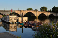 Richmond Bridge, R-U Photos libres de droits