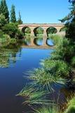 Richmond Bridge in Tasmania. Old convict-built Richmond Bridge in Tasmania, Australia Royalty Free Stock Photography