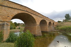 Richmond Bridge in Tasmania Royalty Free Stock Photography