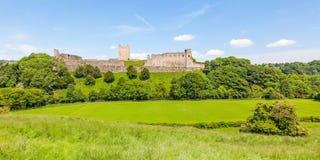 Richmond Castle in Yorkshire, Inghilterra fotografia stock libera da diritti