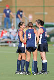 Richmond Field Hockey Huddle Royalty Free Stock Images