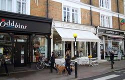 Richmond Hill, Londres Photos libres de droits