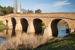 Richmond Historic Bridge immagine stock libera da diritti