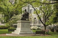 Richmond Historic Capitol Square McGuire-Monument Lizenzfreies Stockfoto