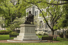 Richmond Historic Capitol Square McGuire Monument Royalty Free Stock Photo