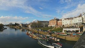 Richmond i solskenet Arkivfoton
