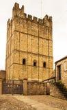 Richmond kasztel, Yorkshire Anglia obraz stock