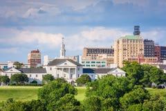 Richmond, la Virginia, architettura storica di U.S.A. fotografia stock