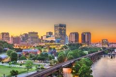 Richmond, la Virginia, orizzonte del centro di U.S.A. immagini stock