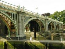 Richmond Lock Bridge Lizenzfreie Stockfotos
