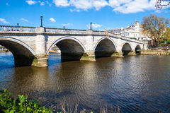 Richmond London by the Thames river Royalty Free Stock Photos