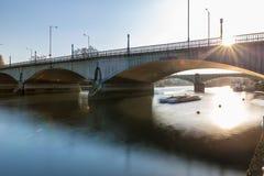Richmond nella mattina di inverno, Londra immagine stock