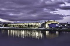 Richmond Olympic Oval Waterfront Royalty Free Stock Photos