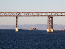 Richmond-San Rafael Bridge California royalty-vrije stock foto's