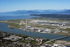 Richmond, Sea Island and Vancouver, BC, Canada Royalty Free Stock Photography