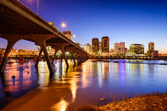 Richmond Skyline Immagine Stock
