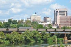 Richmond Skyline en Virginie Photographie stock libre de droits