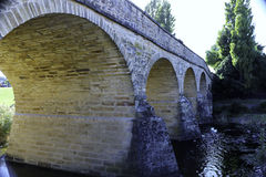 Richmond, Tasmania. Historic bridge in Richmond. Tasmania, Australia Stock Photos