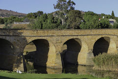 Richmond, Tasmania. Historic bridge in Richmond. Tasmania, Australia Stock Photo