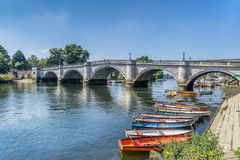 Richmond Upon Thames Arkivfoton