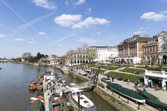 Richmond Upon Thames, England,  2nd April 2016: Historical Richm Royalty Free Stock Image
