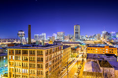 Richmond, Virginia Cityscape fotografia stock libera da diritti