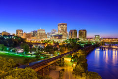 Richmond, Virginia Downtown Skyline Royalty Free Stock Photography