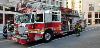 Richmond Virginia Fire Department su una chiamata fotografia stock