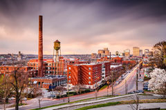 Richmond, Virginia Skyline Images stock