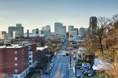 Richmond, Virginia Skyline royalty free stock photos