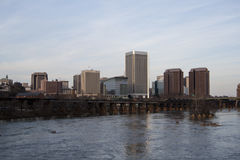Richmond Virginia Skyline Stock Photos