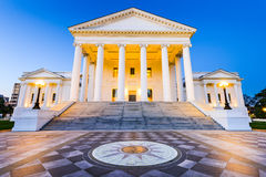 Richmond Virginia State Capitol Stockbilder