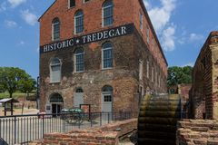 Historic Tredegar building, American Civil War Museum in Richmon Stock Photography