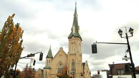 Richmond wzgórza Zlany kościół zbiory