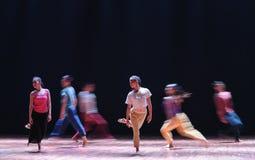 Richten Sie oder falsch-zu gekommen zum gehen-modernen Tanz aus Stockbild