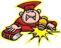 Richter im Rot Stockbilder