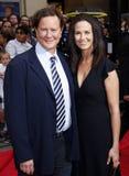 Richter Reinhold und Amy Reinhold Stockbild