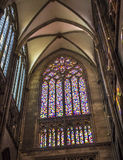 Richter window of Cologne cathedral Royalty Free Stock Image