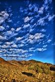 Richtersveld天空 库存图片