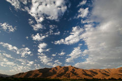 Richtersveld clouds Stock Photo