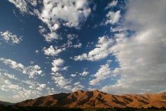 Richtersveld clouds Stock Photo