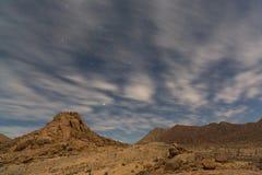 Richtersveld por claro de luna Fotografía de archivo