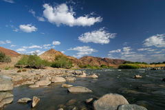 Richtersveld river Royalty Free Stock Image