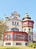 Richtersvilla | Polen, Lodz Stock Afbeelding