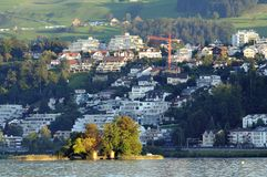 Richterswil Town Royalty Free Stock Image