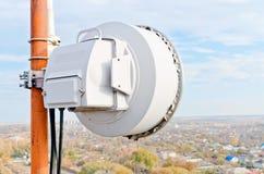 Richtfunkstation der Antenne Lizenzfreies Stockfoto